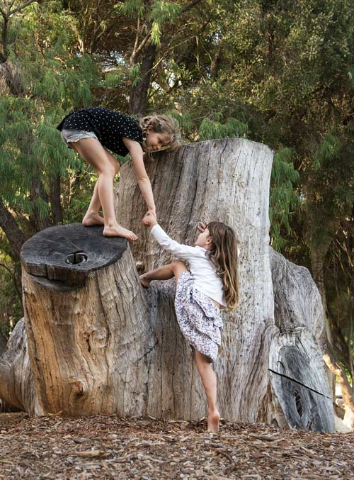 Early Childhood Development with Nature Based Play