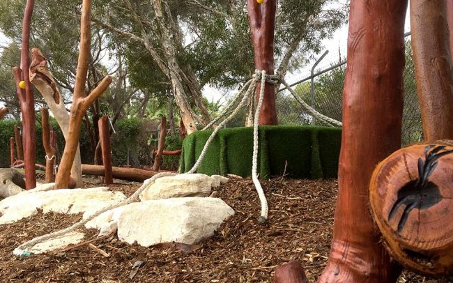 Halidon Primary School Nature Based Playground