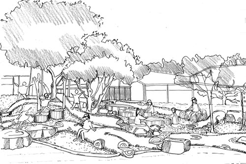 Design Architectural Services Designers of Nature Based Play Playgrounds Perth Regional WA