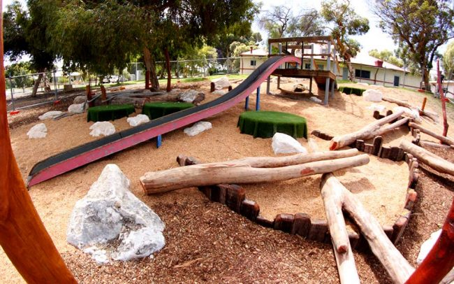 Winterfold Primary School Beaconsfield WA Nature Based Playground Design & Construct