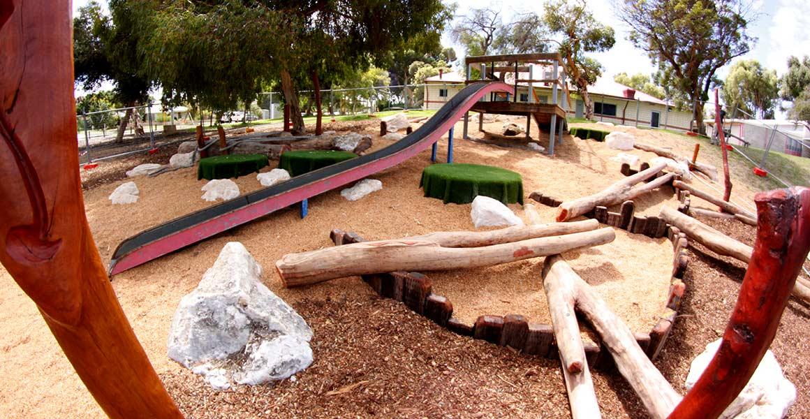 Winterfold Primary School Nature Playground Nature Based