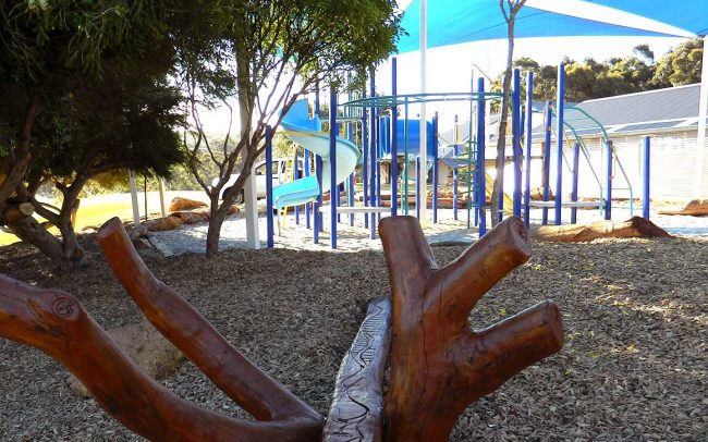 Our Lady of the Cape Primary School Nature Based Playground Dunsborough Rural WA Design and Construct Timber